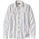 Patagonia Steersman LS Shirt Men Whole Weave: White